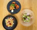 【TAKEOUT】Aセット)帆立とドライトマトのアーリオオーリオ「スパゲティ」