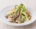 【TAKEOUT】グリルチキンのシーザーサラダ Grilled chicken caesar salad