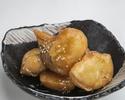 さつま芋の天麩羅はちみつバター