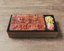 【デリバリー】①極上赤身ステーキ弁当