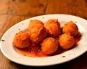【TAKEOUT】ペコリーノチーズのボールフリット /Fried pecorino cheese
