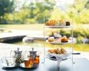 【Afternoon Tea】2時間飲み放題 (スパークリングワイン等)+ メインディッシュは阿波尾鶏のローストの豪華なスタンド