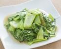 轻轻炒绿色蔬菜