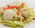 Stir-fried scallop with XO sauce