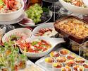前菜&デザートランチブッフェ+選べるパスタ 大人