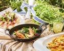 【シーフードコース】鶏肉×豚肉 肉づくしのフリードリンクディナー