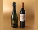【4名様分 デリバリー用】ラ ターブル グルメボックス<ペアリングハーフワイン2種付き>