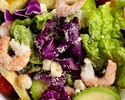 【テイクアウト】海老とアボカドのコブサラダ