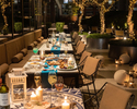 "【Terrace Seating Sparkling free flow】""Mediterranean Greek Barbecue Terrace"