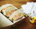 <テイクアウト>【メインディッシュ】オーストラリア産 テンダーロインのカツサンドイッチ 🥪