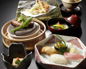 "[Online reservation only] Includes one drink to choose from ""Raku"" (Saturdays, Sundays, and holidays dinner)"