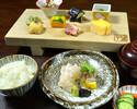 新ランチ【みやした定食】産直旬鮮魚お造り二種盛