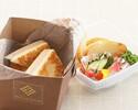 【テイクアウト】芳醇チーズとサクサクブレッドのクロックムッシュ