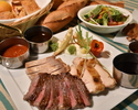 [Weekdays only / Web discount] All-you-can-eat SOCO triple meat steak