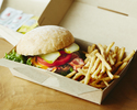 <Drive-through>【Grilled Beef Burger (including french fries)】BeBu Classic Burger🍔🍟