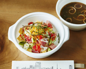 <Drive-through>【Main Dishes】Chirashi Sushi with Miso Soup🍣