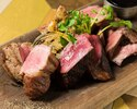 ブラックアンガス牛、薩摩錦鶏、イベリコ豚のグリル盛合わせ...450g
