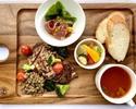 【お日にち限定】選べる乾杯ドリンク付き 前菜とメインが選べるプリフィクスランチ