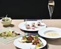 【プリフィクスフォアグラコース+豪華シャンパン含む2時間飲み放題付】魅惑のフォアグラ料理、メイン・デザートが選べる全6品 7500円