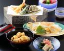天ぷらコース 桔梗