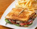 Char Grilled Gluten Free Steak Sandwich