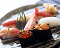【Dinner Online Special】 Roku Roku set - 8 courses including Sushi (8 pieces) with a complimentary welcome drink