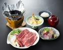 【平日:夕食】 牛すき鍋膳