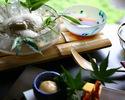 夏季限定】冷しおぼろどうふ 松の膳 生湯葉+お造り付き