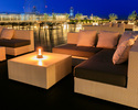 """[Couch sofa """"Party"""" commitment] [Summer-only """"Riverside beer terrace""""] Terrace seats / infants (children 4-5 years old)"""
