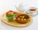 【Dessert Cafe CHOURAKUKAN】 京の夏野菜を使ったビーフシチューセット  【地元応援!京都で食べよう、泊まろうキャンペーン!】