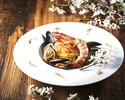 【旬の味覚を愉しむ!】前菜4種盛り+ピッツァ2種+パスタ+メインディッシュ+ドルチェ&カフェ! 季節感溢れるコース「スタジオーネ」! ※ワンドリンク付き