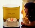[For children] Shortcake diameter 15 cm
