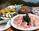 【お手軽BBQセット】豚ロース肉、鶏モモ肉など全5品+ホテルお任せ1品【早割14】