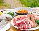 【わいわいBBQセット】US牛肩ロース肉、鶏モモ肉など全6品+ホテルお任せ1品【早割14】