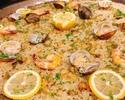 《ランチ》【7月限定】真鯛とレモンのパエリアコース