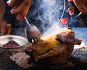 【鳩肉屋】初めての鳩肉を食べてみたい『お試しショートコース』前菜メゼと鳩の丸焼き