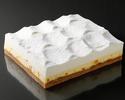 ダブルチーズケーキ【オレンジ】クォーターサイズ(冷凍商品)
