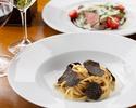 【Dinner fiorentina】Enjoy fresh truffle tagliolini, Kumamoto akaushi beef sirloin tagliata, balsamic vinegar!!