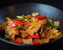 Stir-fried Sliced Pork with Leek in Spicy Sauce (S) 回锅肉 (小)