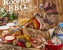 【ランチ】贅沢♪5種のお肉とシーフードも楽しめるプレミアムBBQプラン (飲み放題付き)¥5,000