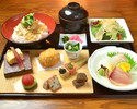 ■湯葉尽くし御膳+産直旬鮮魚お造り 【京 雅】