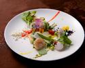 (ランチ)~La Plage~ ラ プラージュコース <Seafood × フレンチイタリアン>愉しみの4品  ★<事前ネット予約割>★