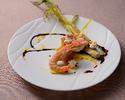 (ランチ)Le Ciel  Bleu/ ル シエルブルーコース<Seafood × フレンチイタリアン>選べるメインやデザート、メインはWで!彩りの6品 ★<事前ネット予約割>★
