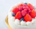 苺のショートケーキ(ホール:丸型 12cm)