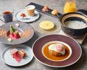 <大人のRICH LUNCH COURSE>Lunch A   和牛ハンバーグコース