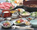 岡喜名物庄七鍋コース 「花」