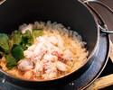 ズワイ蟹の釜飯1合(折詰め)