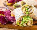 Balinese Chicken Salad Wrap