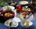 【ディナー加賀御膳】名物「治部椀」含む、ちょっぴり贅沢な食事をお値打ち価格で+1ドリンク付き!
