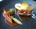 [August ~] A course where you can enjoy dishes unique to Hokkaido
